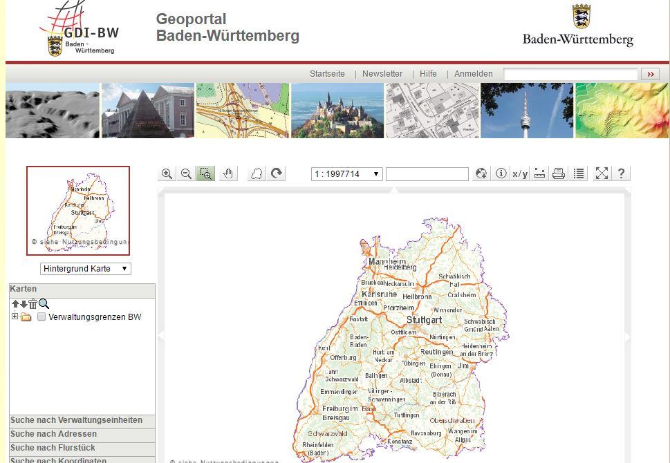 Geoportal - Flurstück