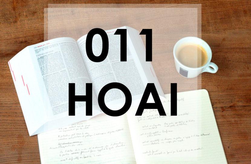 wie ist die HOAI aufgebaut?